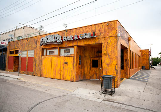 Reno's Bar and Grill in Dallas, Texas